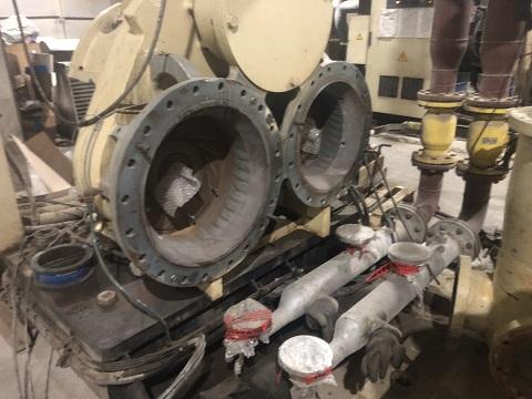 Капитальный ремонт центробежного компрессора С115МХ2 2008 г.в.