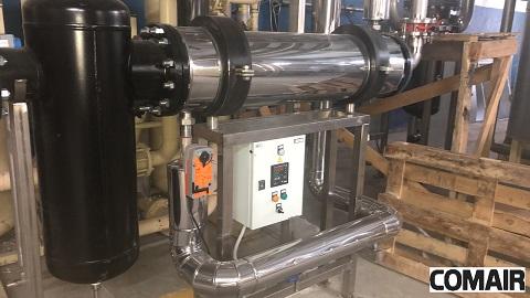 Введен в эксплуатацию пятый комплект оборудования на частной пивоварне.